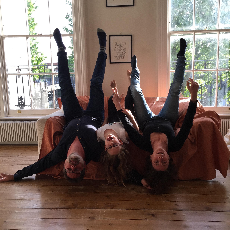 sofa promo picture The Nodines